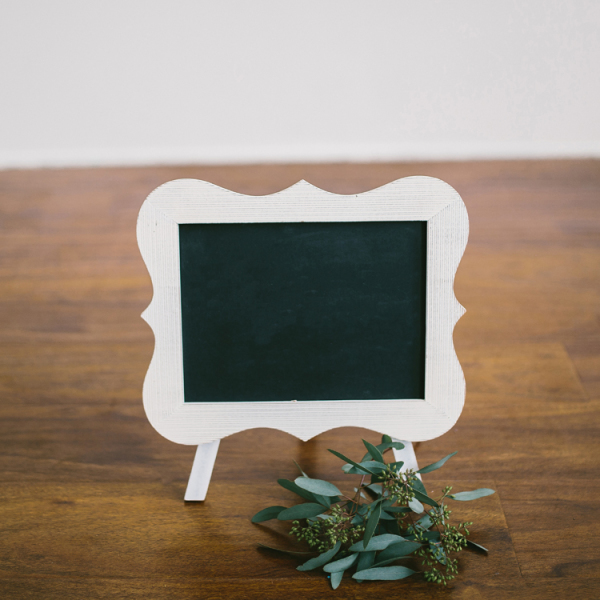 Small Standing Chalkboard