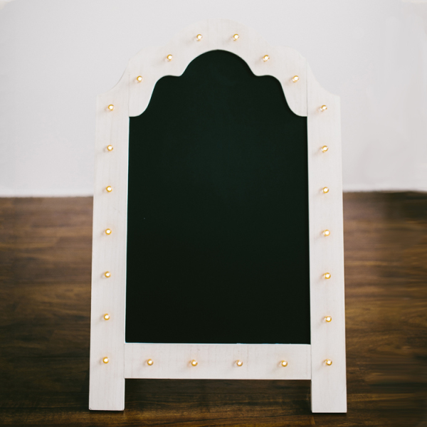 Marquee Standing Chalkboard